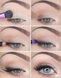 .: Foto tutorial de maquiagem para o dia-a-dia.