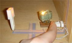 Electrical Wiring for Dollhouse Tutorial - uses tape wire