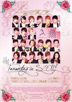 21-member boyband A-Peace.. I never knew there existed such a big boy group... Gotta love all oppas XD!