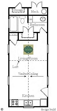 Tiny House Layouts on large great room floor plans