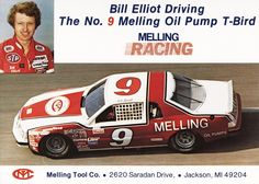 2 Bill Elliott Coors Sports Fan Apparel & Souvenirs Melling Racing 8x10 Promo Photos Sports Mem, Cards & Fan Shop