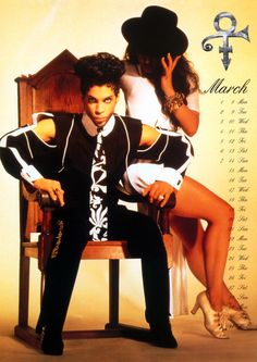 Classic Prince • 1993 Danielo Calendar APRIL - Excellently scanned large format Danielo Calendar which spans Prince's Diamonds & Pearls and O(+> Album era! I didn't scan these another meticulous thoughtful fan did, I believe it was a lady by the name of 'Sahir' if I remember correctly, many thanks to that fan! INJOY! .::Modernaire 2015