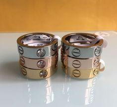 Unisex-Men-Women-039-s-Stainless-Steel-Fashion-Love-Rings-Screw-Screwdriver-Ring-4mm