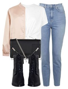 """""""Untitled #6647"""" by laurenmboot ❤ liked on Polyvore featuring Topshop, Cameo Rose, Yves Saint Laurent and Zimmermann"""