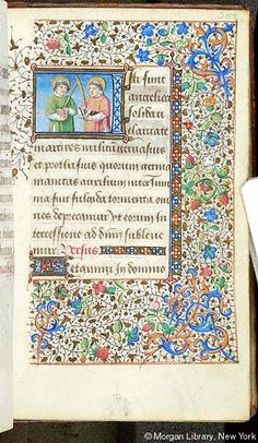 Book of Hours, MS G.1.II fol. 258r - Images from Medieval and Renaissance Manuscripts - The Morgan Library & Museum