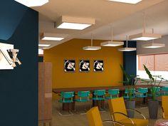 "Winning Interior Design meeting space ""The Loft"" ( Utrecht, designed by Huis & Interieur ( & Interieur) and Marcella Vermeer Interieuradvies ( Vermeer) My Design, Conference Room, Loft, Restaurant, Utrecht, Interior Design, Space, Table, Furniture"