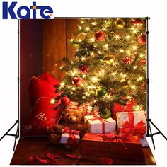 Find More Background Information about Kate Christmas Photography Backdrops Yellow Christmas  Tree Bear Toys For Children Photography Background Christmas,High Quality backdrop fabric,China backdrop print Suppliers, Cheap gift certificates for less from Art photography Background on Aliexpress.com