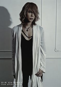 Shinya. Dir en Grey.