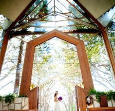 Wayfarers Chapel in California | 22 Of The Coolest Places To Get Married In America -repinned from Los Angeles County & Orange County ceremony officiant https://OfficiantGuy.com