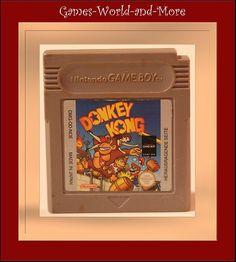 Donkey Kong für Gameboy,Game Boy Spiel,Ansehen!