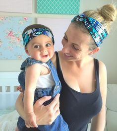 A fun and super simple tutorial how to make headbands at home just like those trendy, twisty turban headbands. With measurements for both adults and kids.