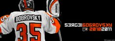 Philadelphia Flyers Sergei Bobrovsky Facebook Covers