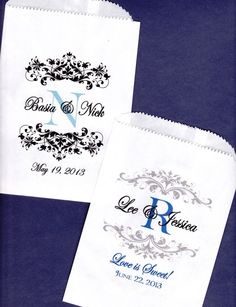 Wedding Candy Bags | Search Results | Wojo Collection