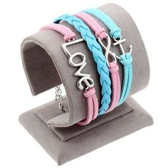 Fashion Various Styles Leather Bracelets LOVE Butterfly Charms Bracelets Wholesale Little Birds & Owl & Stars Heart Jewelry Gift