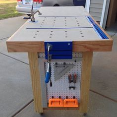 Hybrid Workbench/Assembly Table, - by ChipOffTheOldBlock @ LumberJocks.com ~ woodworking community