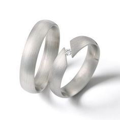 Trauringe Amalfi  Platinring, in 950   Damenring mit 1 Diamanten, 0,05 kt, Farbe: tw, Reinheit: si,  Ringbreite: 5,0 mm,   Ringhöhe: 1,8 mm