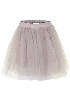 Creamie Hellen skirt gull gray