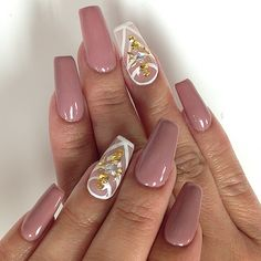 malishka702_nails's Instagram posts | Pinsta.me - Instagram Online Viewer | Nude mauve nails  #nudenails