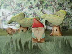Wooden+Gnome++Kids+Toy++Waldorf+natural+wood+by+WaldorfWoodToys,+$9.50