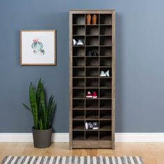 Free Shipping. Buy Space-Saving Shoe Storage Cabinet, Multiple Colors at Walmart.com