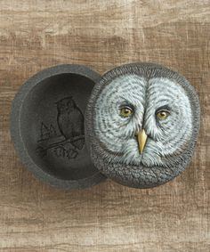 Another great find on #zulily! Owl River Rock Box by Enesco #zulilyfinds