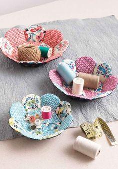 Whimsical Petal Nesting Bowls Sewing Pattern Download