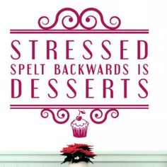 Stressed Spelt Backwards Is Desserts Wall Sticker East Urban Home Colour: Violet Dinosaur Wall Stickers, Letter Wall Stickers, Childrens Wall Stickers, 3d Butterfly Wall Stickers, World Map Decal, World Map Wall, Alphabet Wall, Quality Quotes, Italian Quotes