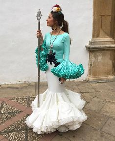 👗 #FLAMENCASYVOLANTES Diseñ Fiesta Outfit, African Fashion, Costumes, Lace, Sexy, Wedding, Outfits, Collection, Instagram