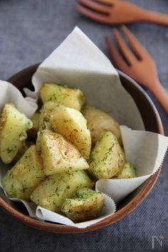 Home Recipes, Asian Recipes, Snack Recipes, Cooking Recipes, Ethnic Recipes, Gluten Free Snacks, Potato Recipes, Japanese Food, Potato Salad