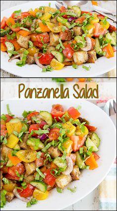 Panzanella Salad    www.joyineveryseason.com