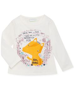 First Impressions Baby Girls' Fox Tee - Kids - Macy's