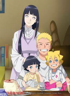 NaruHina... uzumaki family Naruto hinata boruto himawari