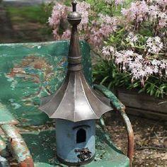 Large Metal Victorian Birdhouse 1