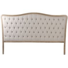 Sleep in upscale style! French White Curved Headboard