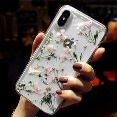 685b236473 Floral Print Mobile Case - iPhone XS / X / 8 / 8 Plus / 7 / 7 Plus / 6S /  6S Plus