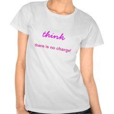 Think Slogan T-Shirt