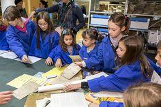 Visite dédiée au jeune public aux Archives départementales de la Haute-Savoie pendant les Journées européennes du patrimoine 2017 #hautesavoiExperience