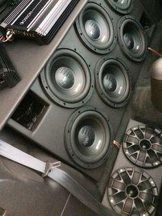 The Mustang Custom Car Audio, Custom Cars, Lexus Es 330, Car Speaker Box, Car Audio Installation, Subwoofer Box Design, Car Audio Systems, Car Sounds, Car Amplifier