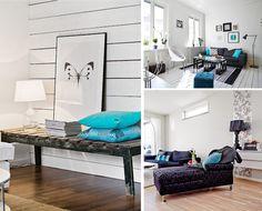 Un apartamento con pincelada en color Orquídea Radiante | Decorar tu casa es facilisimo.com
