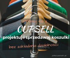 Cupsell - projektuj i sprzedawaj koszulki
