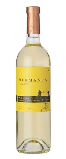 #wine region to look out for -- Salta, Argentina (2012 Hermanos Torrontés Cafayate Valley Salta)