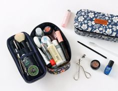 Pour Vous Block Pouch. If only my makeup bag was this neat
