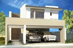 casa fachada moderna conteporanea