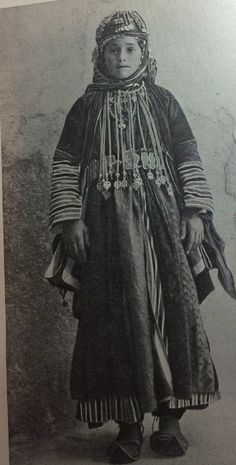 Young woman of Armenia. Picture from the book, People of all Nations.