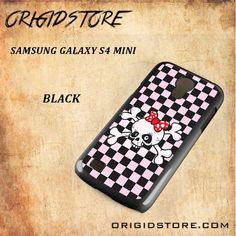 Girl Power Skull Snap On Samsung Galaxy S4 Mini Case 3D Samsung Galaxy S4 Mini Case Transparent Case
