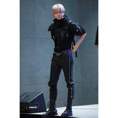 Monsta X Hyungwon, Shownu, Kihyun, Starship Entertainment, Thighs, Leather Pants, Punk, Kpop, Fashion Outfits