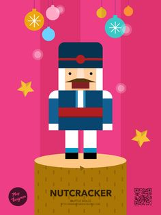 ittle dolls Education puzzle_nutcracker #PlayTangram #Colorful #Modern #Minimal #Puzzle #Learning #Flat #ios #iphone #Toy #Children
