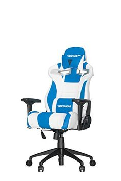 Computer Chair - Vertagear Racing Series S-Line SL4000 Ergonomic Racing Style Gaming Office Chair - White/Blue 4GamerGear http://www.amazon.com/dp/B017KEDXRK/ref=cm_sw_r_pi_dp_g.e7wb1MZ8S0V