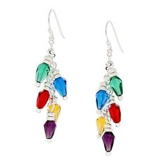 Lights of Christmas Earrings | Fusion Beads Inspiration Gallery