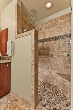 Bath Shower Tile Design Ideas cottage shower tile ideas 37 Walk In Showers That Add A Touch Of Class And Boost Aesthetics Shower Ideas Bathroom Tiletile